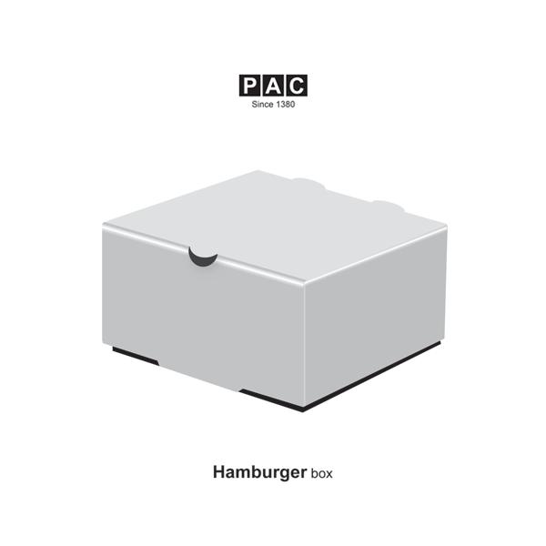 جعبه همبرگر دوبلکس
