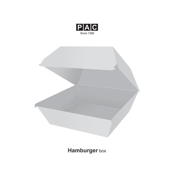 جعبه همبرگر صدفی