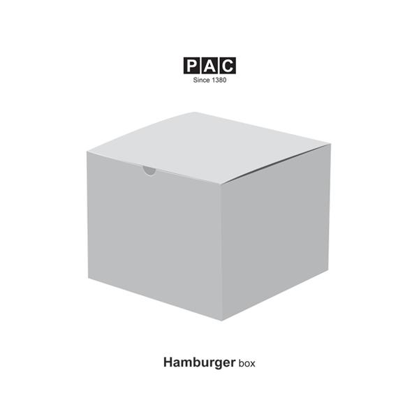 جعبه همبرگر مکعبی