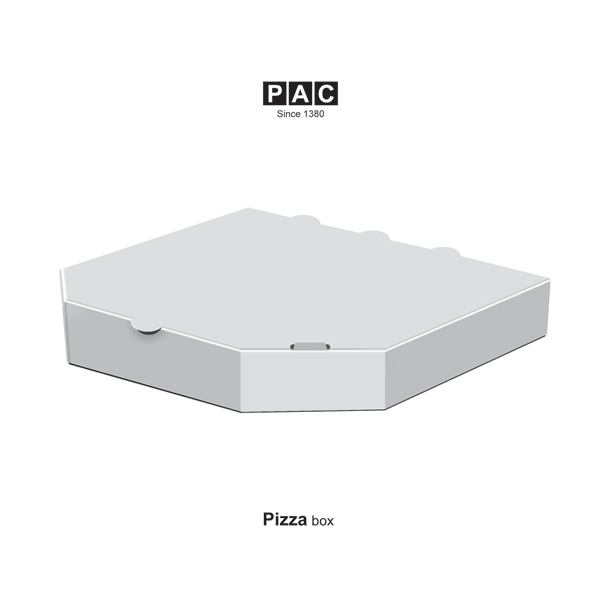 جعبه پیتزا شش وجهی